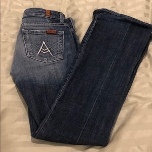 For 7 all man kind jeans. Size 24